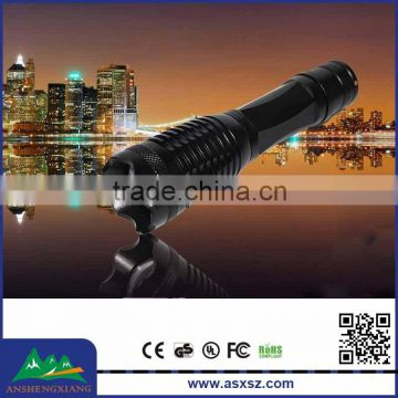 T6 Flashlight outdoor telescopic zoom Tactical LED Flashlight