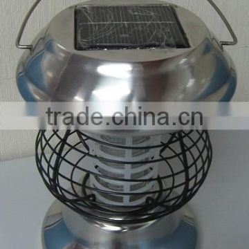 Stainless garden pest control machine solar mosquito killer light