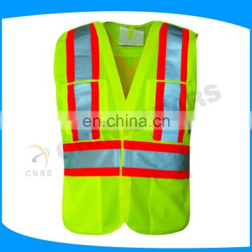 RSV050 Reflective safety vest(ANSI/ISEA 107-2010, NFPA 701, CAN/CSA-Z96-02, AS/NZS 1906.4-1997 certificate)