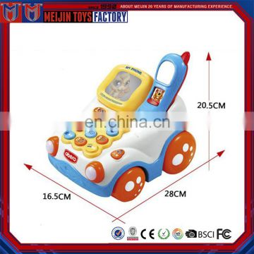 China wholesale speak learning musical mobile phone baby toys