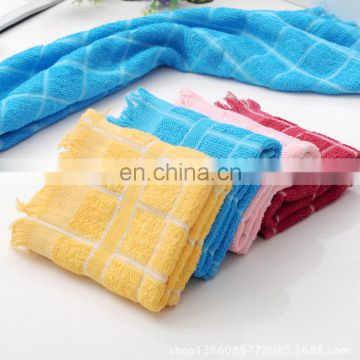 Direct factory blended fabric towels tea towels for tea sets cotton towels 37*61cm 50g