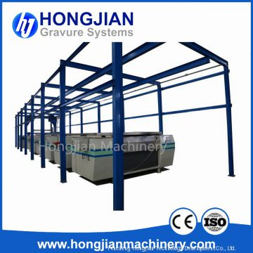 Gravure Cylinder Plating Line Electroplating Production Line Plating Equipment Plating Bath Galvanic Tank