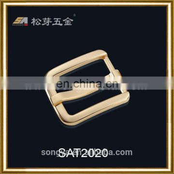 China Songa Factory Plated Belt Buckle, Custom Belt Buckle, Zinc Alloy Pin Buckle