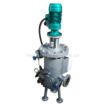 ss304 full auto self cleaning brush filter for liquid waste