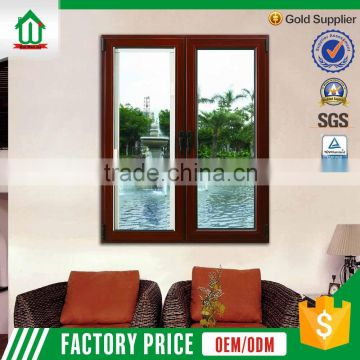 2016 New Style French Casement Aluminum Window Frame and Glass