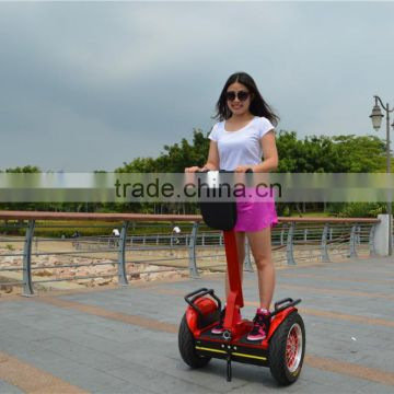 Free warranty factory price kids scooters with big wheels green power self balance chariot space electric scooter for sale