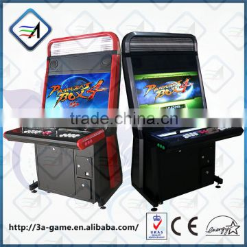 32'' LCD Latest Coin Operated 2 Game in 1 Arcade Cabinet Machine Jamma 645 in 1 Pandora's Box 4 Game Machine