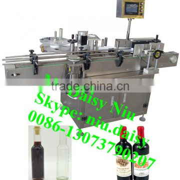 Commercial Plastic Bottle Labeling Machine Shampoo Labeller Label Printing