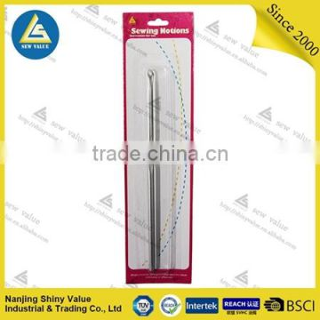 Sewing accessories type single headed best quality knitting needle crochet hook