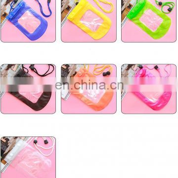 Mobile phone waterproof cover bag floating mobile phone bag