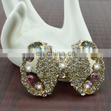 diy crystal jewelry bowknot alloy accessories
