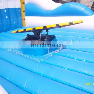 New Inflatable Wave Surfboards Simulator Surfing Toy Surf Machine For Park Games