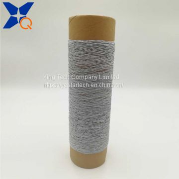 150D polyester filaments twist with 12micron*100filaments*2plies completely