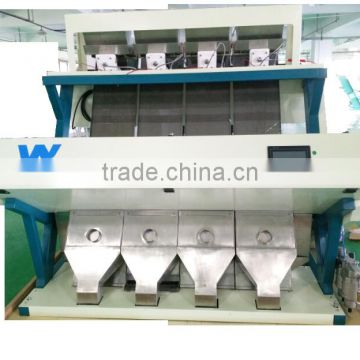 high sorting accuracy optical almond color sorting machine