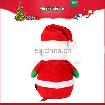 2016 Happy New Year Lovely Plush Christmas Santa Claus Toys