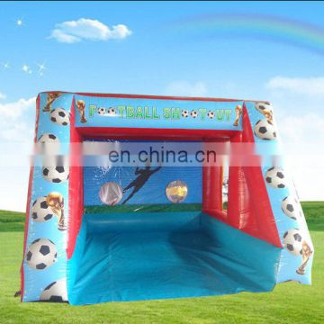hot sale inflatable football shootout game