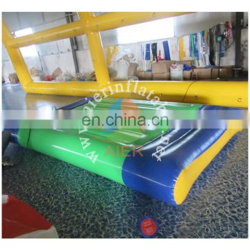 PVC material Water game Type Inflatable water Beds/Inflatable floating mat for sale