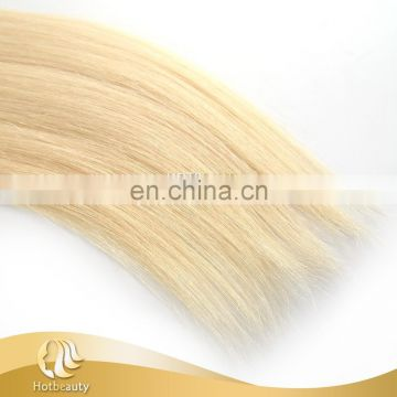 Blonde Russian Hair Silky Straight 613# Bleached Color 10 Inch-30 Inch