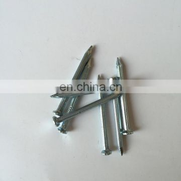 Electro galvanized concrete steel nails special cement nail high strength steel nail