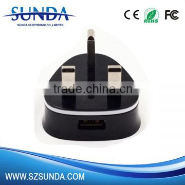 home charge 5v 1A /2A usb UK EU wall charger ac adapter standard plug available                                                                                                         Supplier's Choice