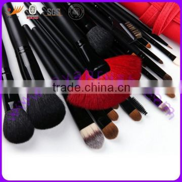 23-piece Professional Makeup Brush Set,Includes Powder, Blusher,Foundation,Lip, Eyeshadow and Mascara