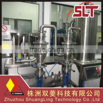 High efficiency metal powder air classifier with perfect fineness