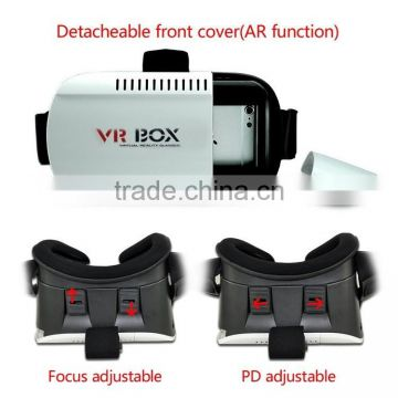 Alibaba Best Supplier wholesale Vr Box 2.0 2 Virtual Reality 3D Glasses