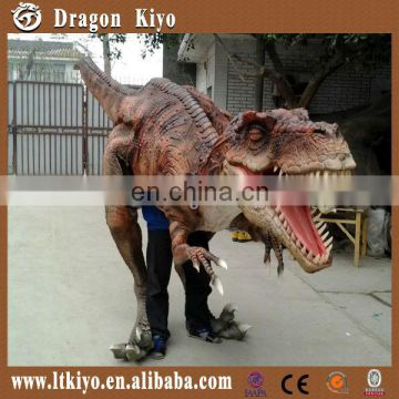 2015 high quality walking with dinosaur costume