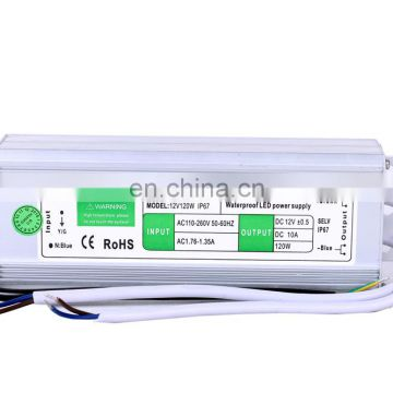 LED Power Indicator Waterproof LED Switching Power 12V 120W Constant Current
