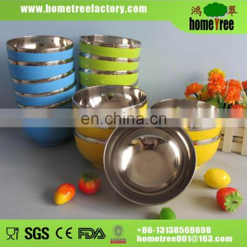 stainless steel serving bowl without lid 450ml