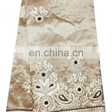 New design hot selling african george lace fabric for party