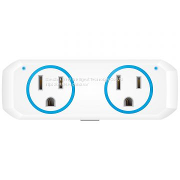 App Intelligent Voice Remote Wireless Control Mini US Power Socket Outlet Wifi Smart Plug for Amazon Alexa