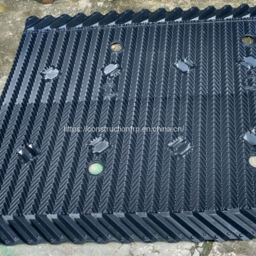 PVC rigid sheet counter flow cooling tower infiller sheet for LC cooling tower fill CF1900