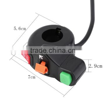 7/8 inch Motorcycle Scooter Dirt ATV Quad Handlebar Horn Switch Headlight Turn Signals On/Off Switch