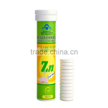 Wholesale Zinc Tablets For Hair Loss Recommended Zinc Intake Of Zinc