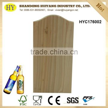 wholesale decorative wood wall hanging beer opener