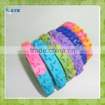 silicone wrist band for the promotion