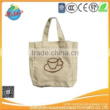 handle shopping bag canvas/cotton Tote bag