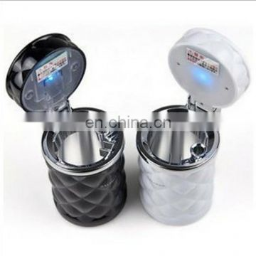 Portable Car Auto LED Light Ashtray Cigarette Holder