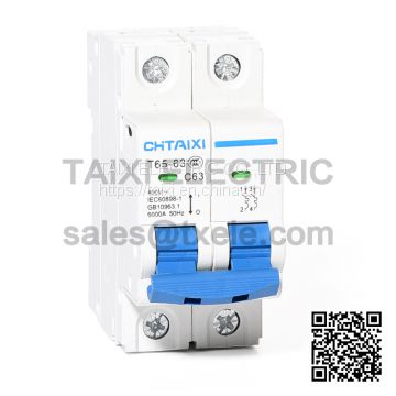 TXC65-63 miniature circuit breaker