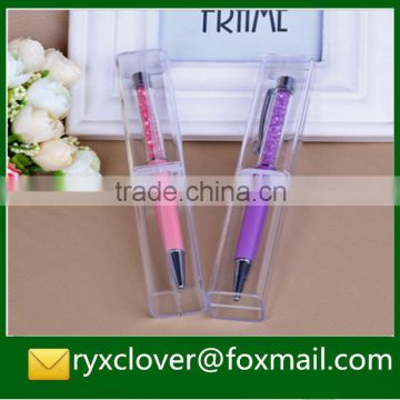 Clear Small Hard Plastic Gift Boxes For Pen