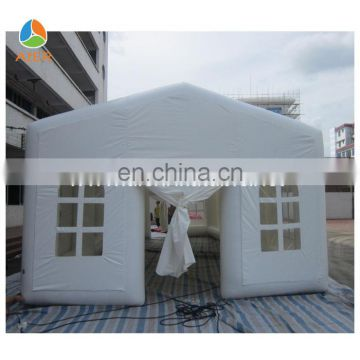 10x5 Sealed UV Resistant 30 person big outdoor event tent, express inflating party tent for sale, cheap inflatable tent price
