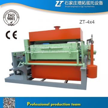 hot sale Paper egg tray machine/Egg tray making equipment manufacturer/Egg tray equipment production line ZT-4X4
