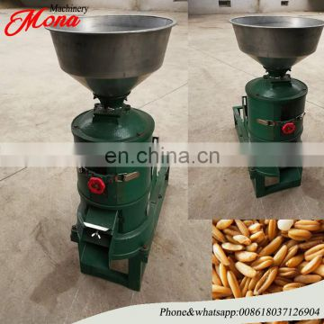 Mona factory Wheat Oat Barley Shelling Peeling Husking Machine