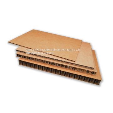 Source waterproof display board use double corrugated paperboard
