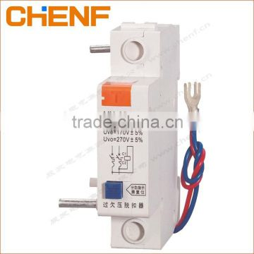DZ47 MCB 230V AC MV+MN Over Under Voltage Release Auxiliary Switch