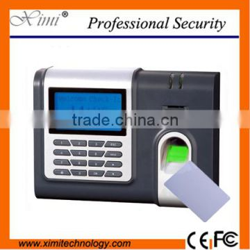 ZK fingerprint time attendance TCP/IP RS232&485 communication 3inches TFT  screen touch kerpad biometric terminal time attendance