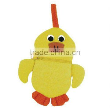 bath care product cute chicken animal bath scrubber for baby