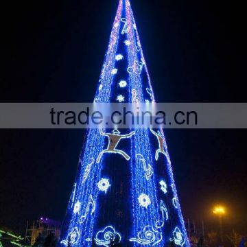 Guangzhou favorable price artificial christmas tree 5-45m hot selling royal palm trees