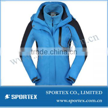 2014 Hot sale OEM ladies windproof snow jacket, womens hot snow ski jacket 2014,new design ladies ski gear